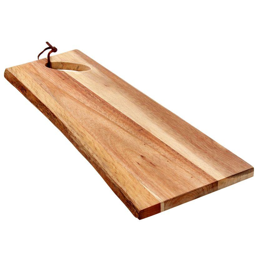 Planche à servir en bois d´acacia 44X17X1.5cm - Point Virgule