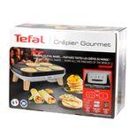 Crêpière électrique gourmet 2 plaques - Tefal
