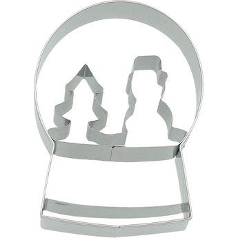 Achat en ligne Emporte-pièce en inox boule à neige Noël 8 cm - Birkmann