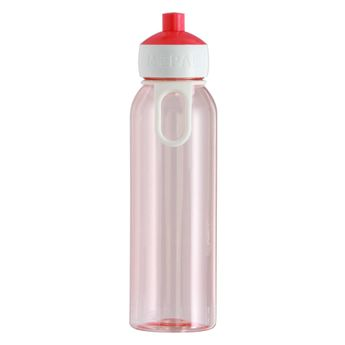 Bouteille nomade campus rose translucide 500 ml 7 x 22.2 cm - Mepal