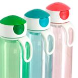 Bouteille nomade campus turquoise translucide 500 ml 7 x 22.2 cm - Mepal