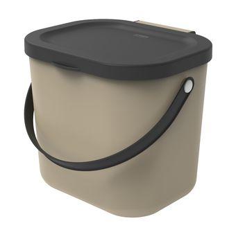 Achat en ligne Poubelle à compost Albula taupe 6 l - Rotho