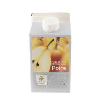 Achat en ligne Purée de poire 500 ml - Ravifruit