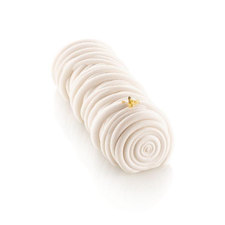 Moule en silicone bûche Lana 24 cm - Silikomart