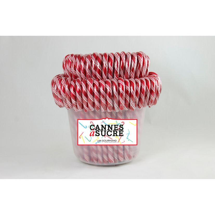Canne à sucre / Sucre d´orge fraise 28g
