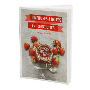 Achat en ligne Petit livre de confiture et gelees en 100 recettes - First