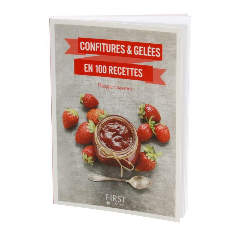 Petit livre de confiture et gelees en 100 recettes - First