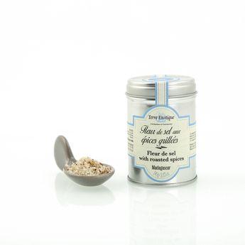 Fleur de sel aux épices grillées 90gr - Terre Exotique
