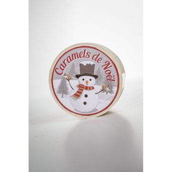 Achat en ligne Mini boîte caramel de Noël 50g - La Maison d'Armorine