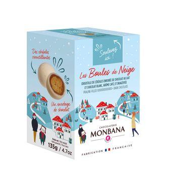Achat en ligne Les boules de noel edition limitee 135g - Monbana
