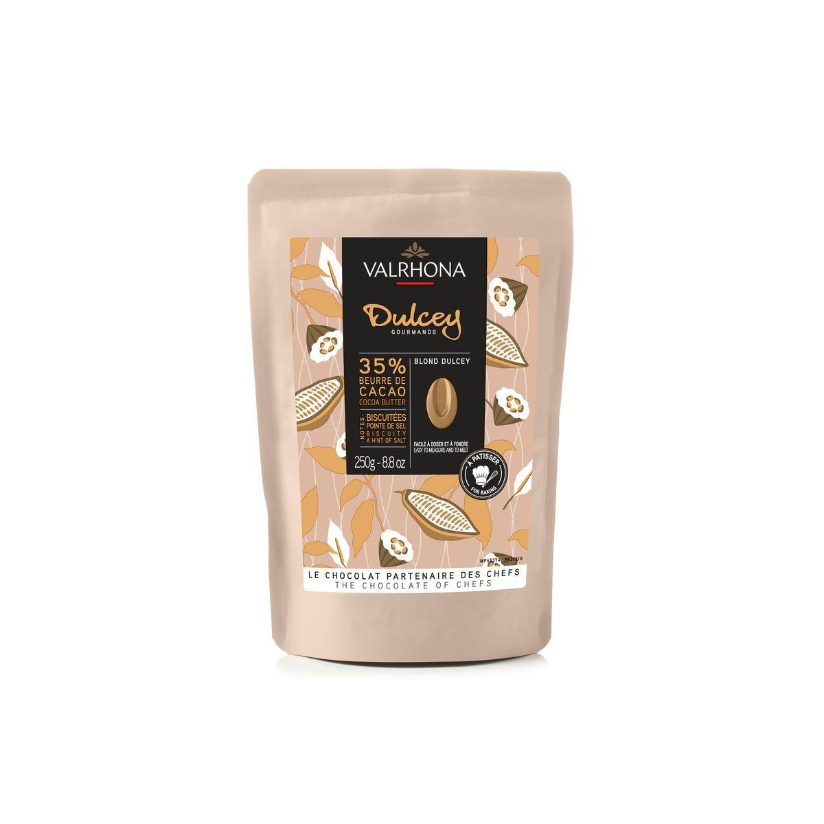 Chocolat blond à pâtisser Dulcey 32%  250g - Valrhona