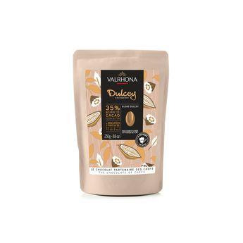 Achat en ligne Chocolat blond à pâtisser Dulcey 32%  250g - Valrhona