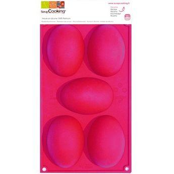 Moule 5 œufs Pâques - Scrapcooking