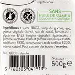 Pâte à sucre blanche 500g sans huile de palme