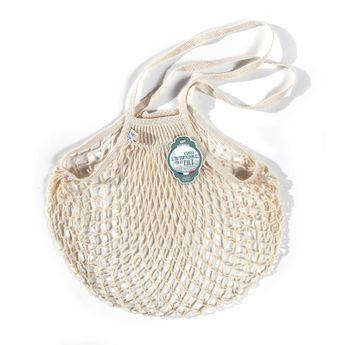 Achat en ligne Filets à provisions anses longues en coton ecru 40cmx70cm - Filt