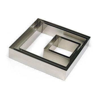 Achat en ligne Carré en inox 4.5 x 7 cm - Gobel