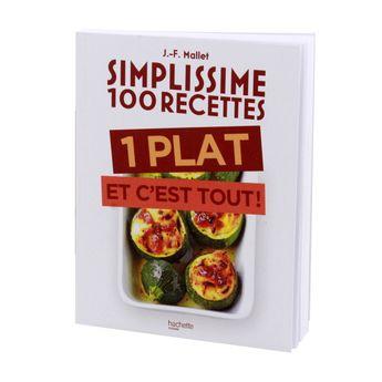 Achat en ligne Simplissime 100 recettes 1 plat et c´est tout - Hachette Pratique
