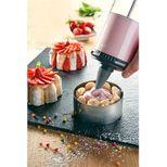 Le tube : kit piston à pâtisserie et presse à biscuits (2 douilles et 13 disques biscuits) - De Buyer