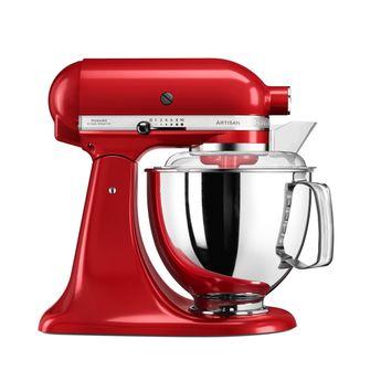 Achat en ligne Robot pâtissier artisan rouge empire 5KSM175PSEER 4.8 l - Kitchenaid