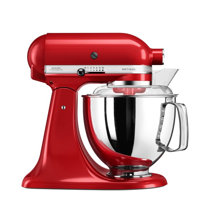 Robot pâtissier artisan rouge empire 5KSM175PS 4.8 l - Kitchenaid