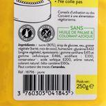Pâte à sucre jaune 250g sans huile de palme