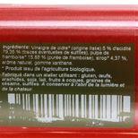 Vinaigre pulpe de framboise bio 25cl - Savor et Sens
