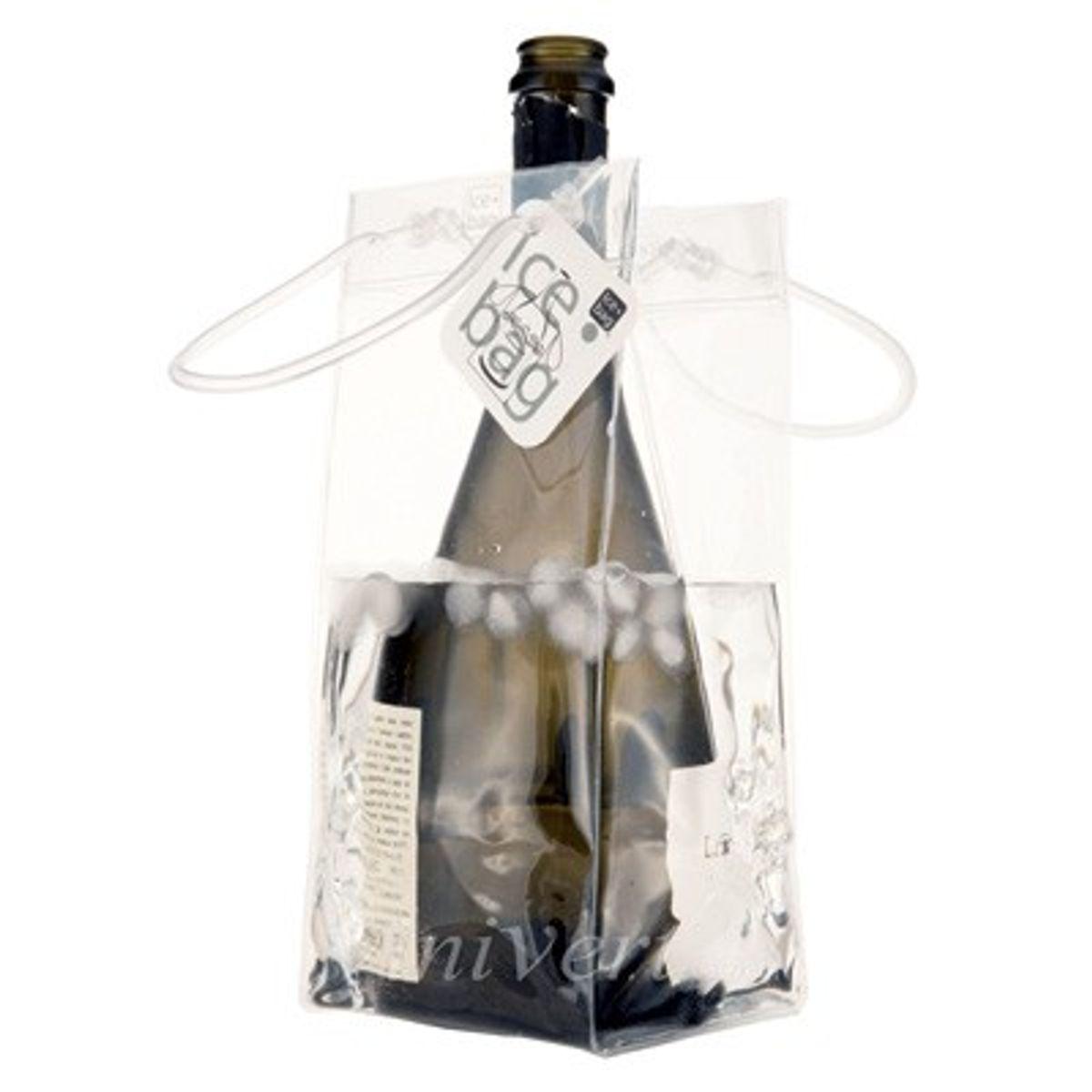 Seau à glace nomade transparent - Ice Bag