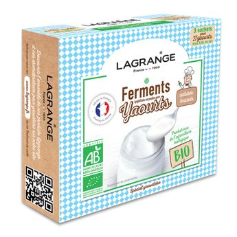 Achat en ligne Ferments pour 27 yaourts natures - Lagrange