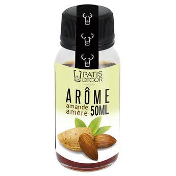 Achat en ligne Arôme alimentaire naturel amande amère 50 ml - Patisdecor