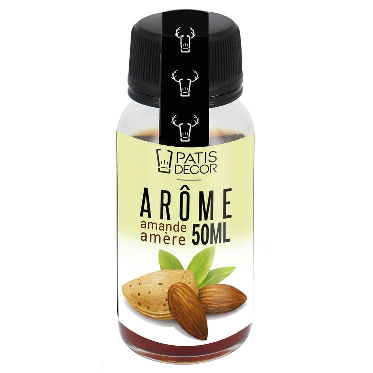 Arôme alimentaire naturel amande amère 50 ml - Patisdecor