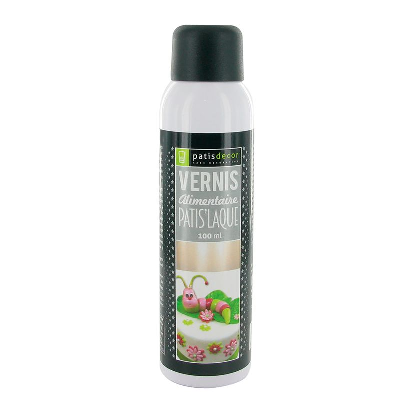 Vernis alimentaire en spray patis´laque 75 ml - Patisdecor