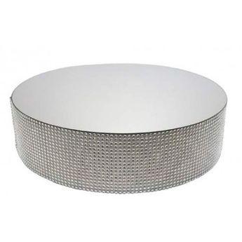 Achat en ligne Présentoir miroir contours effet diamants 25 cm - Patisdecor