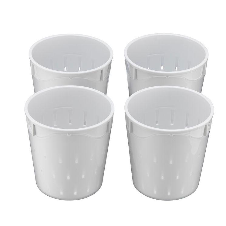 4 petits pots à faisselle 0,25 l - Lagrange