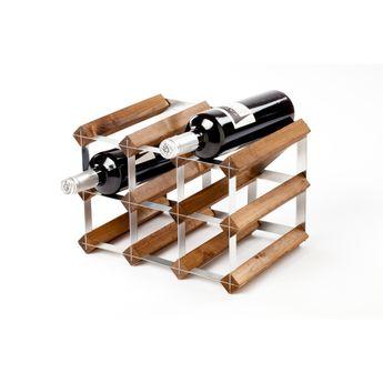 Achat en ligne Range bouteilles en bois 9 bouteilles - Traditional Wine rack