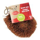 Brosse coco fibre végétale - La droguerie écologique