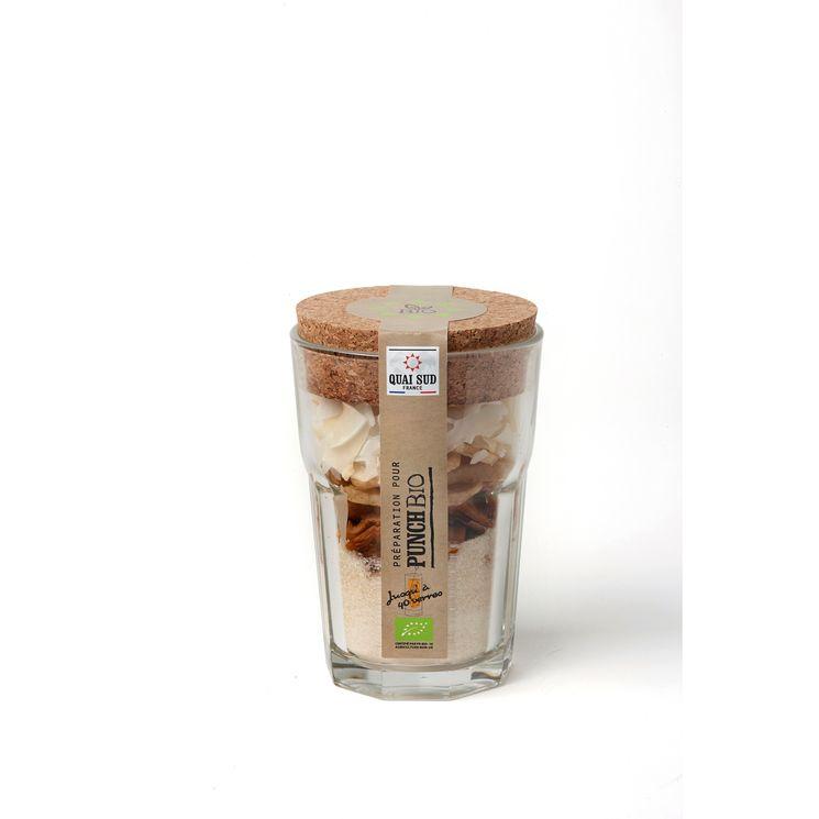 Mélange bio pour punch en verre à mojito 150g - Quai Sud