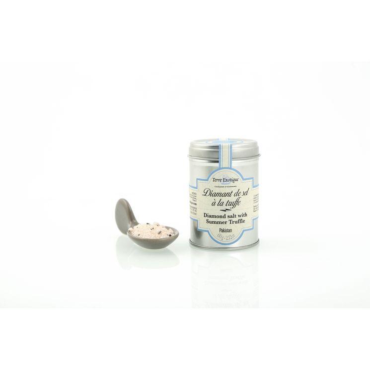 Diamant de sel à la truffe d´été aromatisé 60 g - Terre Exotique