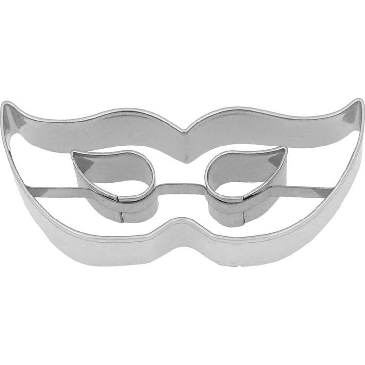 Emporte-pièce en inox masque vénitien 7 cm - Birkmann