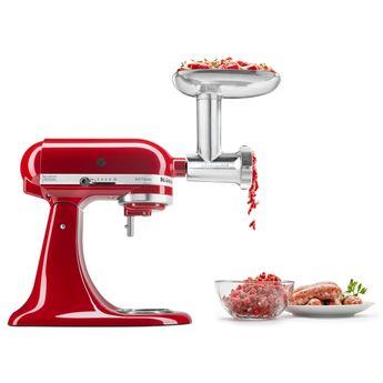 Achat en ligne Accessoire : hachoir à viande en métal avec poussoir à saucisse 5KSMMGA - Kitchenaid