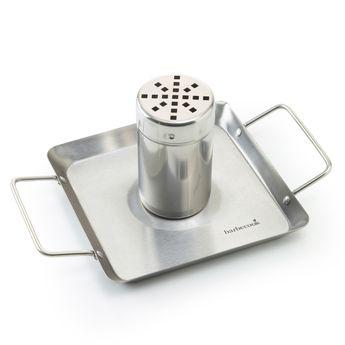 Achat en ligne Support de cuisson pour poulet en inox 27.5 x 18.5 cm - Barbecook