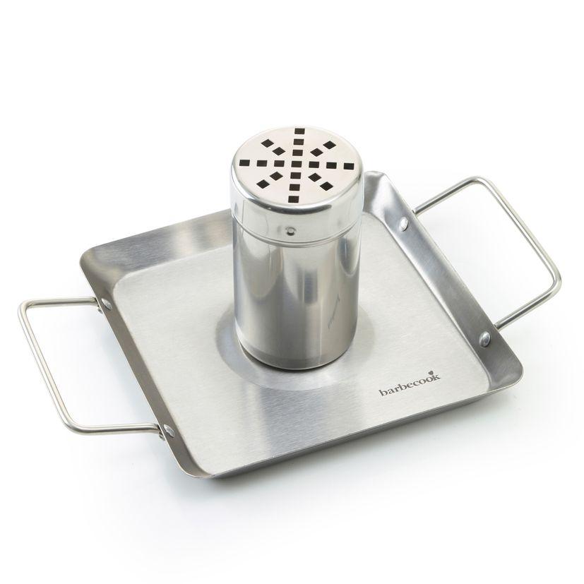 Support de cuisson pour poulet en inox 27.5 x 18.5 cm - Barbecook