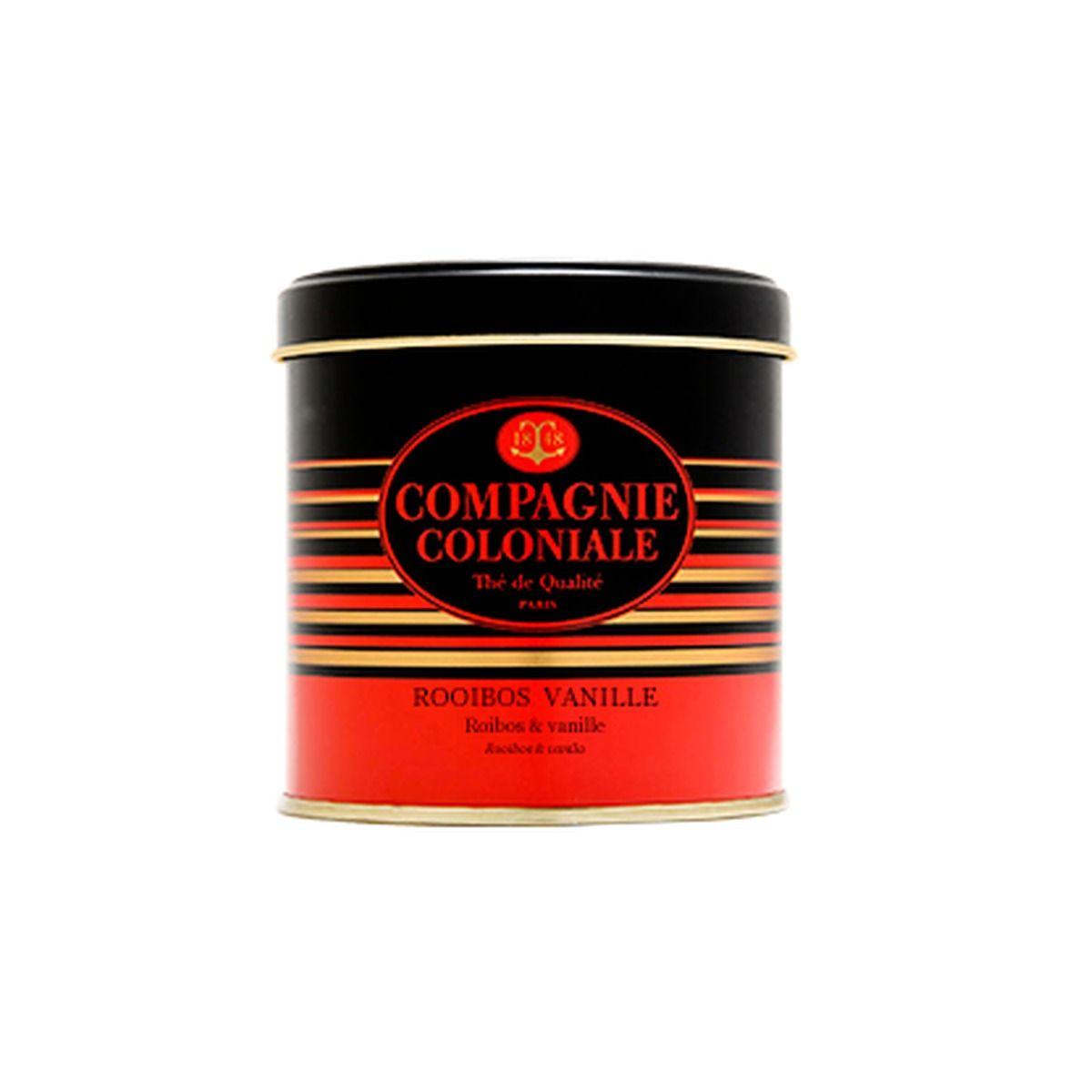 Rooibos Vanille boite métal 30g - Compagnie Coloniale