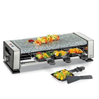 Achat en ligne Appareil à raclette électrique Vista 4 avec pierre - Kuchenprofi