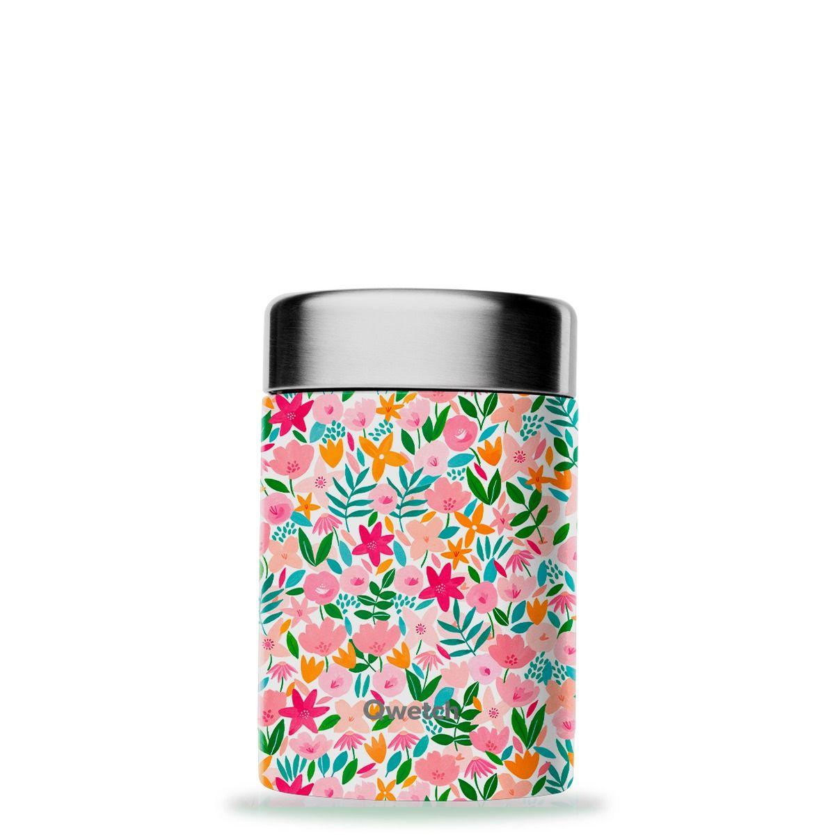 Boîte repas et soupe en inox Flora 650ml - Qwetch