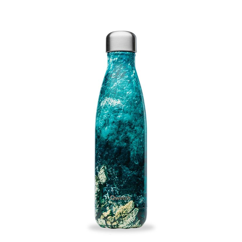 Bouteille isotherme inox 500ml Calanques - Qwetch