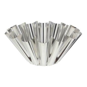 Achat en ligne Moule à brioche en fer blanc 6/8 parts 22 cm - Alice Délice