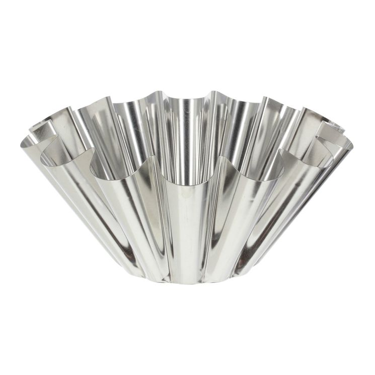 Moule à brioche en fer blanc 6/8 parts 22 cm - Alice Délice