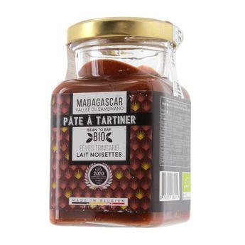Achat en ligne Pâte à tartiner Noisettes du Piémont et chocolat lait Madagascar 150g - Millésime