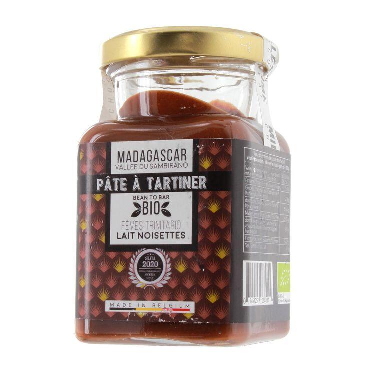 Pâte à tartiner Noisettes du Piémont et chocolat lait Madagascar 150g - Millésime