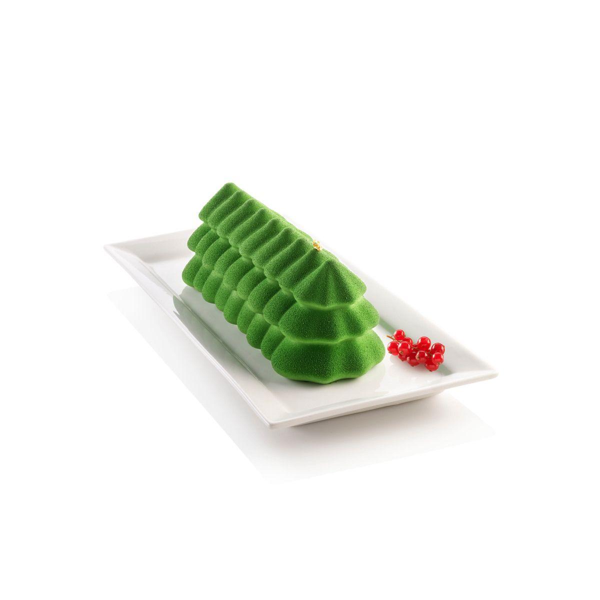 Moule en silicone bûche Sapin 25 cm - Silikomart